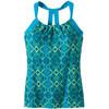 Prana Quinn Mouwloos Shirt Dames turquoise